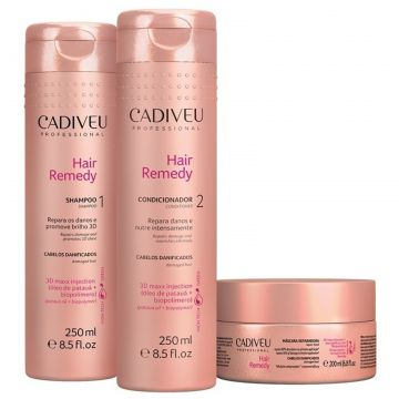 Cadiveu Kit Hair Remedy Home Care