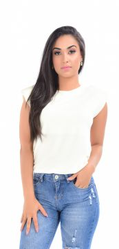 Blusa Adamas Muscle Tee OFF White