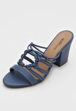 Tamanco DAFITI SHOES Tiras Azul