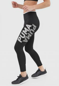 Legging Puma Modern Sports Fold Up Preta