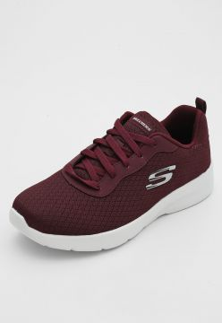 Tênis Skechers Dynamight 2.0 Eye To Eye Vinho