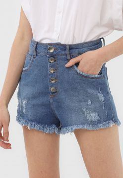 Short Jeans My Favorite Thing(s) Destroyed Azul
