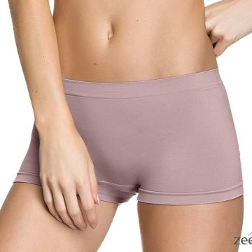 Calcinha Boxer sem Costura Roxa Honey Be CA072 Roxo