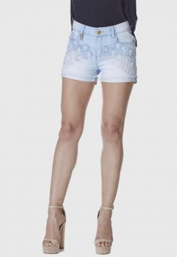 Short Jeans HNO Jeans Curto Azul