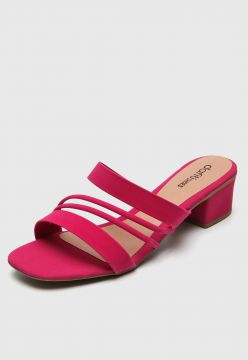 Tamanco DAFITI SHOES Tiras Pink