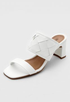 Tamanco DAFITI SHOES Tressê Off-White