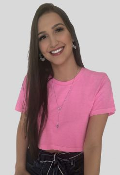 Cropped Neon Gkm Cropped Rosa Neon