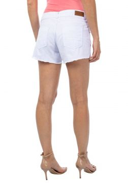 Short Feminino Color Confort Branco