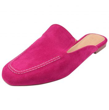 Mule Dona Madame Loafer Pink