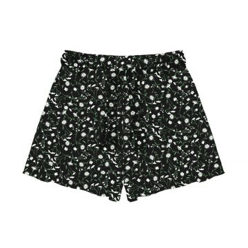 Short Feminino Viscose Flamê Endless Preto