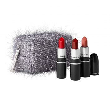 Kit de Natal Mini MAC Fireworked Like a Charm 3 Batons