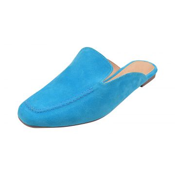 Mule Dona Madame Loafer Azul