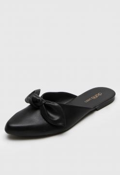 Mule DAFITI SHOES Laço Preto