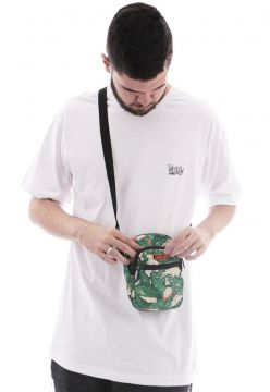 Mini Bolsa Lateral Shoulder Bag Camuflado Verde Ref   008