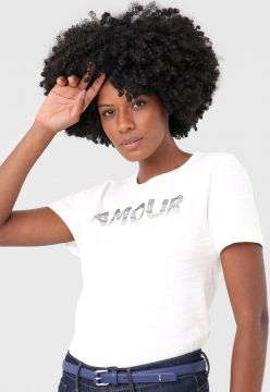 Blusa Dudalina Amour Off-White