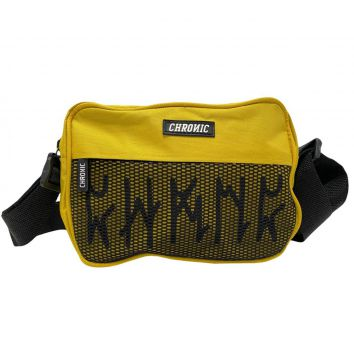Shoulder Bag Mini Bolsa Pochete Chronic Amarelo