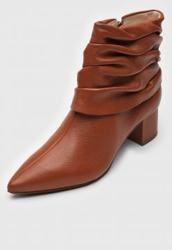 Bota Jorge Bischoff Slouch Caramelo