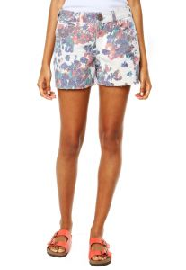 Short Sacada Floral Off White