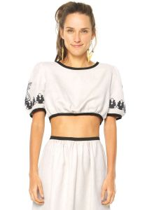 Blusa FARM Off-White