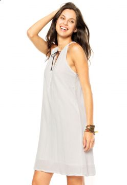 Vestido MNG Barcelona Vinet Off-WhIte