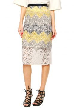 Saia Finery London Judd Printed Lace Multicolorida
