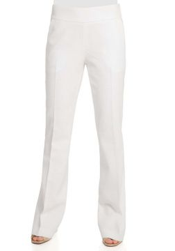 CALÇA FLARE-OFF WHITE GREGORY