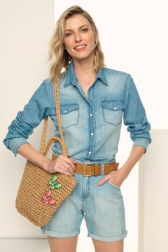 SHORT JEANS-AZUL JEANS GREGORY