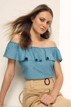 BLUSA JEANS-AZUL JEANS GREGORY