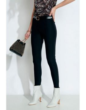 Calça Boot Cut Com Bolsos-preto - Gregory
