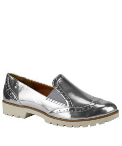 Sapatilha Feminina Slipper Metalizada Dakota B8532
