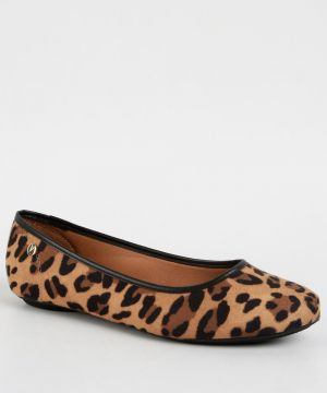 Sapatilha Feminina Estampa Animal Print Vizzano