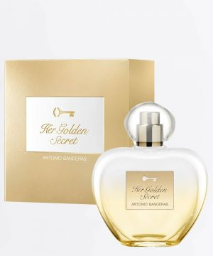 Perfume Feminino Her Golden Secret Antonio Bandeiras 80ml