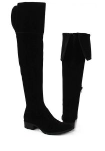 Bota Over The Knee Feminina Lara - Preto