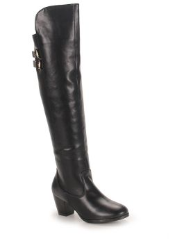 Bota Over The Knee Feminina Mooncity - Preto
