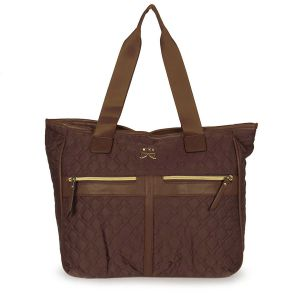 Bolsa Shopping Bag Kika Sport - Cafe