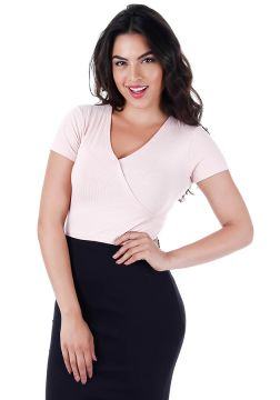Top Cropped Feminino Lara - Rosa