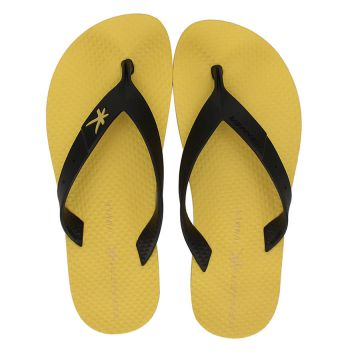 Chinelo Kenner Summer Black - Pto/Amarelo