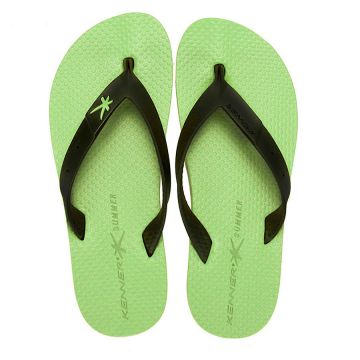 Chinelo Kenner Summer Black - Verde
