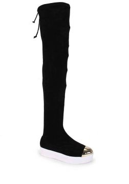 Bota Over The Knee Feminina Azaleia - Preto