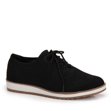 Sapato Oxford Dakota Tramado - Preto