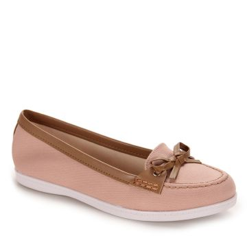 Sapato Dockside Moleca New - Rosa