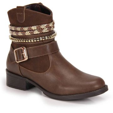 Ankle Boots Mooncity Fivela - Cafe