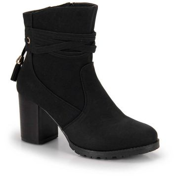 Ankle Boots Mooncity Tassel - Cafe