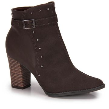 Ankle Boots Mississipi Tachas - Cafe