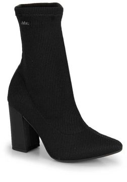 Ankle Boots Dakota Meia Knit - Preto
