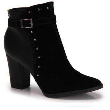 Ankle Boots Mississipi Tachas - Preto