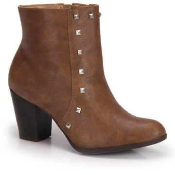 Ankle Boots Via Marte - Caramelo
