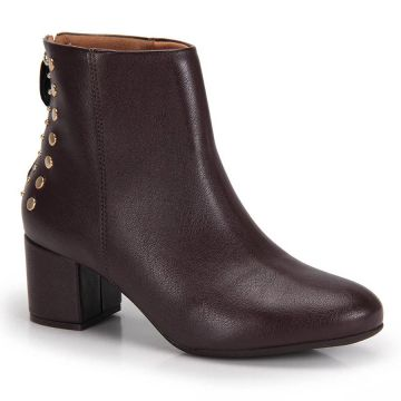 Ankle Boots Vizzano Tachas - Cafe