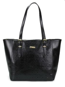 Bolsa Shopping Bag Queens Preto