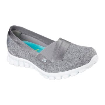 Sapatilha Feminina Skechers Fascination ez Flex 2 Cinza